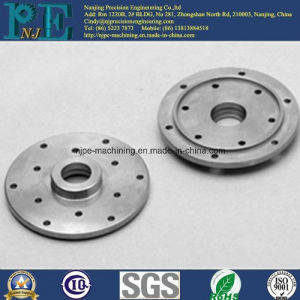 Axminster High Precision Steel CNC Machining Flanges pictures & photos