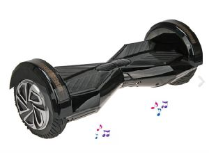 8 Inch Electric Scooter with Bluetooth Speaker and LED Light pictures & photos