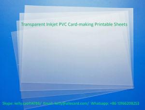 Transparent Inkjet PVC Sheet Instant PVC Sheet pictures & photos