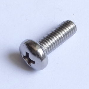 Alloy Steel Slotted Pan Head Screws DIN 85 pictures & photos