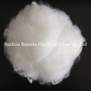 Anti-Distortion Super White Polyester Staple Fiber PSF for Filling Sofa pictures & photos