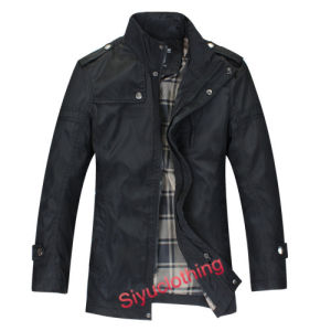 Men Classical Nylon Polyster Windproof Casual Jackets (J-1604) pictures & photos