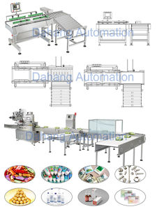 Liqueur Box Checkweigher with Pusher Rejector pictures & photos