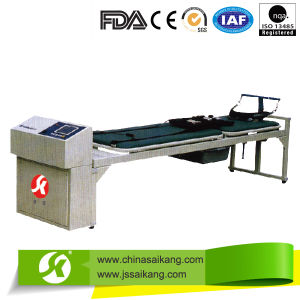 Hospital Bed Electrical Cervical and Lumbar Traction Table (CE/FDA/ISO) pictures & photos