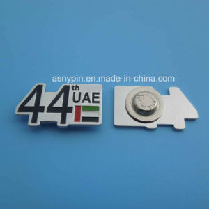 Die Cut Shape UAE 44th Year Magnetic Badge pictures & photos