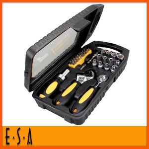 2014 Newest Type Triangle Screwdriver Bit, Best Screwdriver, Hot Sale Soft Rubber Handle Repair Screwdrivers Bit Set T18A027 pictures & photos