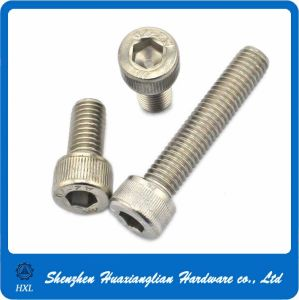 DIN912 Stainless/Black Steel Hex Socket Cylinder Head Bolts pictures & photos