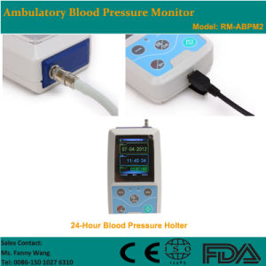 CE Approved Color Big LCD Ambulatory Blood Pressure Monitor (RM-ABPM2) -Fanny pictures & photos
