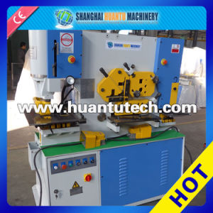 Q35y-30 Hydraulic Iron Worker Can Cutting Bending Punching Notching pictures & photos
