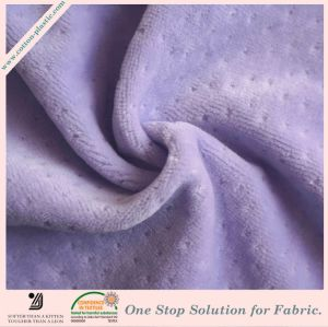 Knitted Solid Color Dobby Velvet Fabric for Garment, Home Textile (Multiple Color Options)