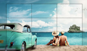 55′′samsung LCD Display (3.5mm)