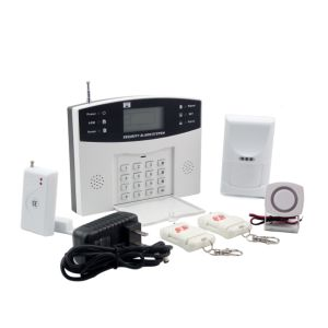 Security Burglar Alarm Systems with 8 Wired and 99 Wireless Zones pictures & photos