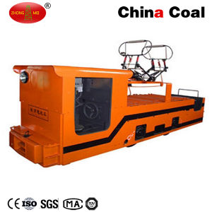 Cjy 10 Ton Overhead Line Battery Electric Trolley Locomotive pictures & photos