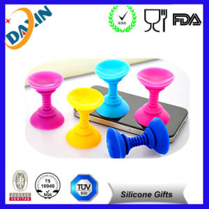 Custom Promotion Silicone Mobile Phone Holder Plastic Stand pictures & photos