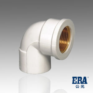 UPVC Pressure Pipe Fitting 90 Degree Copper Thread Elbow pictures & photos