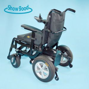 Showgood Cheap Power Folding Wheel Chair
