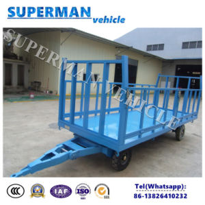 3t Utility Flatbed Luggage Transport Cargo Full Trailer pictures & photos