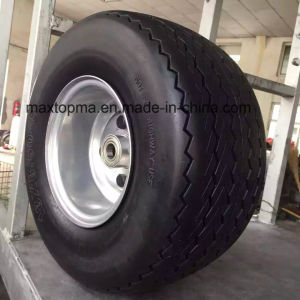 China Maxtop Quality Flat Free PU Foam Wheel pictures & photos