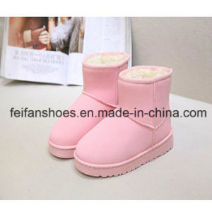Hot Sale Women Snow Boots Casual Shoes Boots Factory (FF-3) pictures & photos