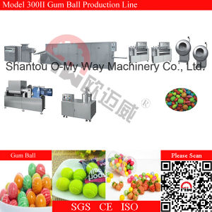 Ball Gum Coating Machine Watermelon Bubble Gum Production Line pictures & photos