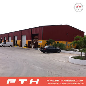 Sandwich Panel Wall Steel Structure Workshop pictures & photos