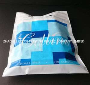 Die Cut Handle Colorful Plastic Shopping Bag pictures & photos