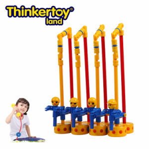 Thinkertoy Land Blocks Educational Toy Park Series Amusement Park Free Falling Chair (P6203)
