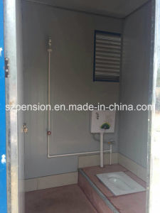 Peison Mobile Convenient Mobile Prefabricated/Prefab Toilet/House in The Street pictures & photos