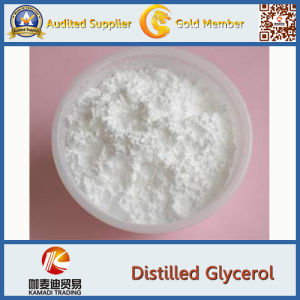 Food Additive Emulsifier CAS 123-94-4 Distilled Glycerin Monostearate