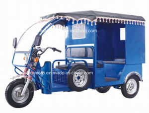 Threel Wheel Electric Tricycle for Passenger pictures & photos