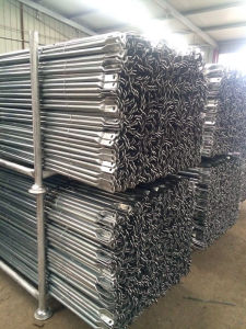 Frame Scaffolding Galvanized Cross Brace pictures & photos