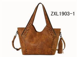 Ladies Hobo Handbag Factory Price OEM Shoulder Handbag Special Women PU Handbag (ZXL1903-1) pictures & photos
