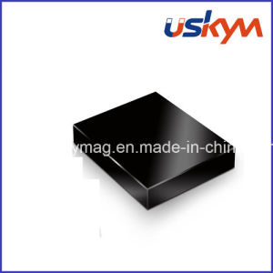 Black Epoxy Neodymium Magnet Motor Magnet Square NdFeB Magnet pictures & photos
