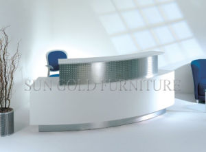 Modern High End Customized Small Steel Salon Reception Desk (SZ-RT037) pictures & photos
