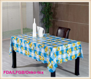 PVC Table Cloth Roll Factory pictures & photos