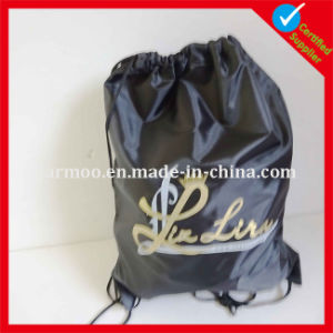 Custom Printed Cloth Drawstring Bag pictures & photos