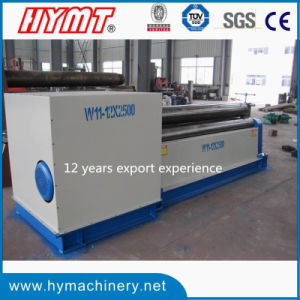 W11-12X2500 Mechanical 3 Rollers Type Steel Plate Rolling Machine pictures & photos