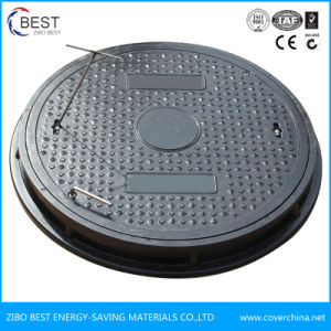 B125 700X50mm Round FRP GRP Anti Theft Manhole Cover pictures & photos