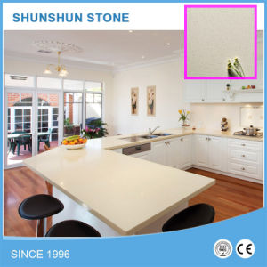 Beige Quartz Stone Countertop pictures & photos