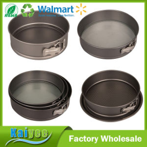 Advanced Nonstick Bakeware Rectangle Square Springform Dessert Pan with Lock Catch pictures & photos