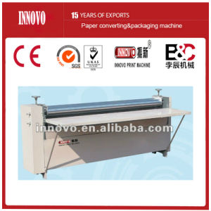 Corrugated Cardboard Gluing Machine (ZXBJ-1200) pictures & photos