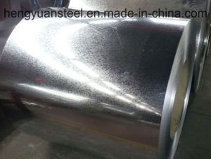 0.50/1219mm Regular Spangle Z180 Galvanized Steel Coil Hdgi pictures & photos