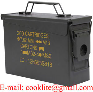 M19A1 30 Cal Military Ammo Can Ammunition Box pictures & photos