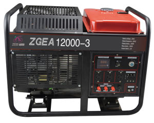 12kw Three Phase Open Type Honda Gasoline Generators (ZGEA12000-3) pictures & photos