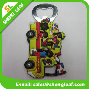 New Product Cheap 3D Car Shaped Personalized Rubber Bottle Opener pictures & photos