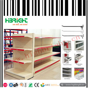 Metal Supermarket Display Shelf Rack Gondola Shellving pictures & photos