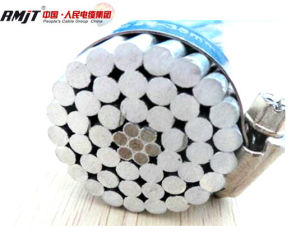 Overhead ASTM549 ACSR/Aw Cable (Aluminum conductor aluminum clad steel reinforced) pictures & photos