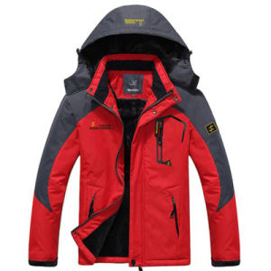 Men′s Waterproof Mountain Jacket Fleece Windproof Ski Jacket pictures & photos