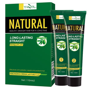 110ml*2 Olive Oil Natural Hair Straightening Cream Cosmetic pictures & photos