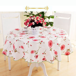 Designed Plastic PVC Table Cloth with Thickness 1mm pictures & photos